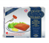 Grand Gourmet - FILETTO di SALMONE ROSSO (Sockeye) selvaggio canadese