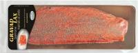 Gravad Lax salmone (Salmo Salar) fresco marinato all'aneto