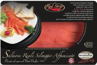 Salmone Selvaggio affumicato Red King (Reale) taglio Red Strip